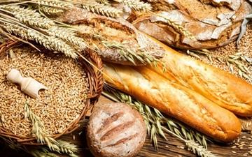 Bread And Wheat Food All Mac wallpaper