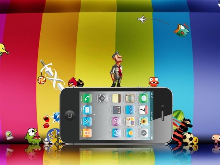 Iphone Fun Mac Wallpaper
