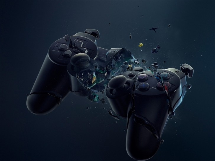 Broken Joystick Mac Wallpaper