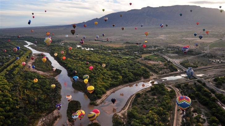 Balloon Fiesta  Mac Wallpaper