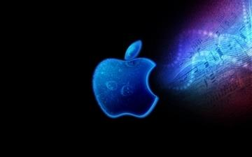 Apple Mac Brand Logo Bright Shadow Mac wallpaper