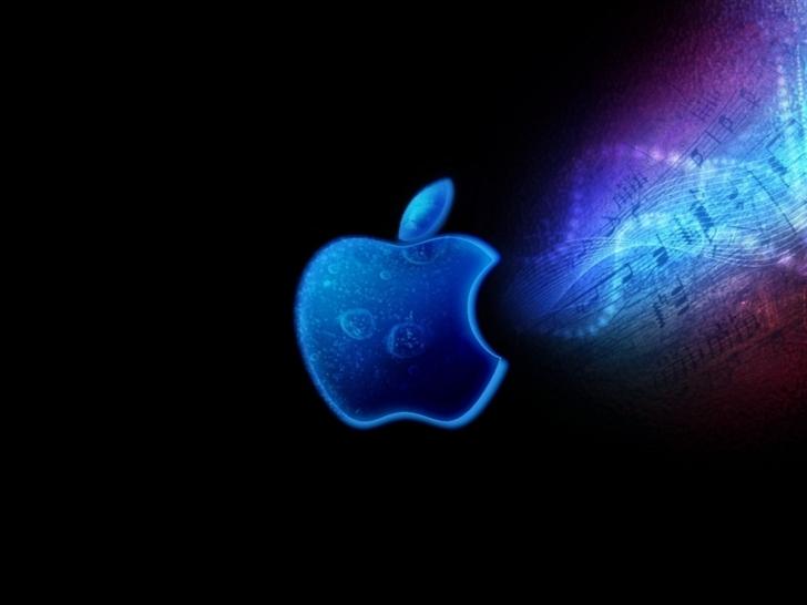 Apple Mac Brand Logo Bright Shadow Mac Wallpaper