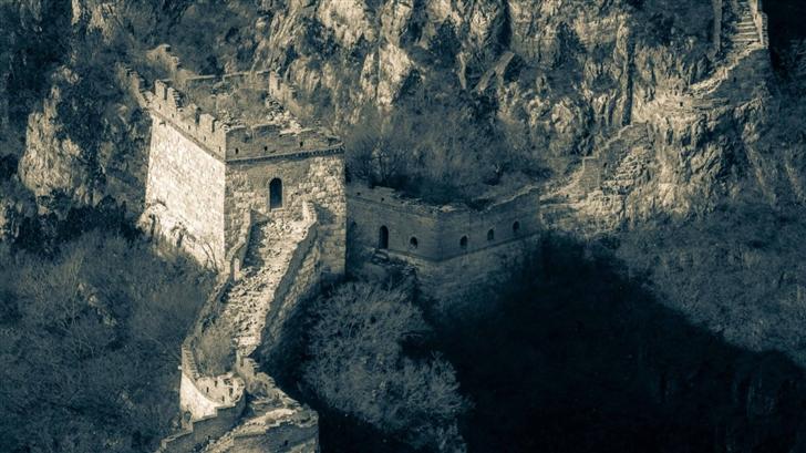 Broken Great Wall Of China Mac Wallpaper