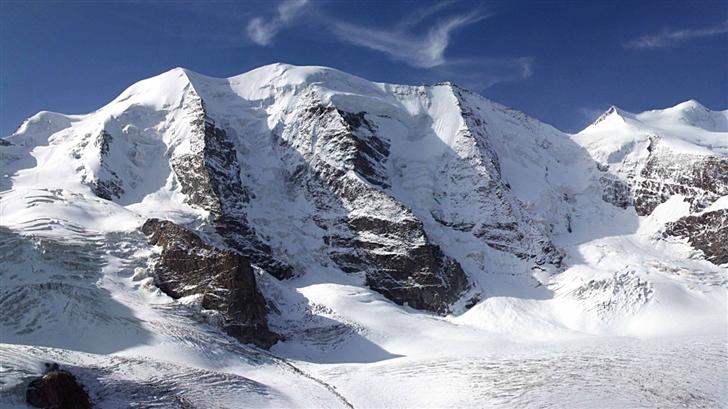 Mountain Peaks Panoorama Mac Wallpaper
