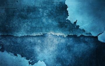 Blue Stains Mac wallpaper