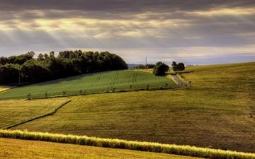 Countryside Field Mac wallpaper