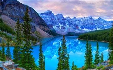 Mountains Moraine Lake  Mac wallpaper