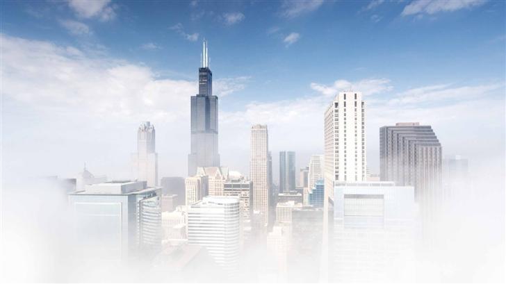 Chicago Fog Mac Wallpaper