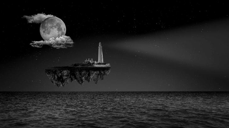 Lighthouse Ship Mac Wallpaper