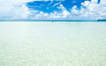 Okinawa Islandn Crystal Clear Water Mac wallpaper