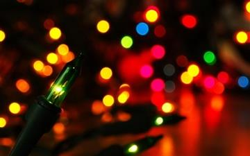 Colorful Lights bokeh All Mac wallpaper