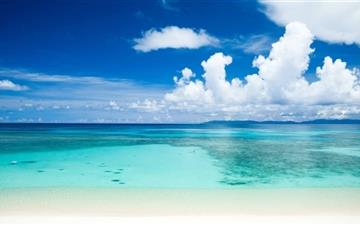Tropical Beach All Mac wallpaper