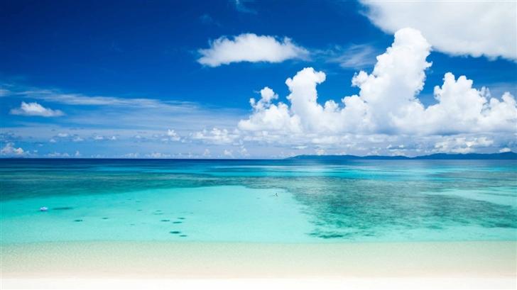 Tropical Beach Mac Wallpaper