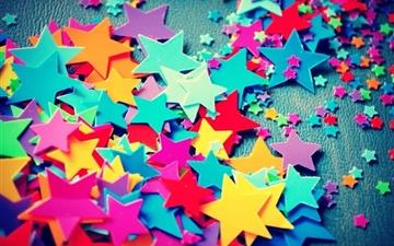 Plastic Stars All Mac wallpaper