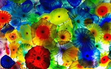 Colorful Vegas jellyfish All Mac wallpaper