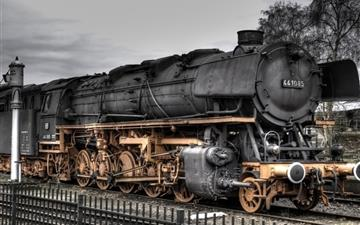 Steam Locomotive MacBook Pro wallpaper