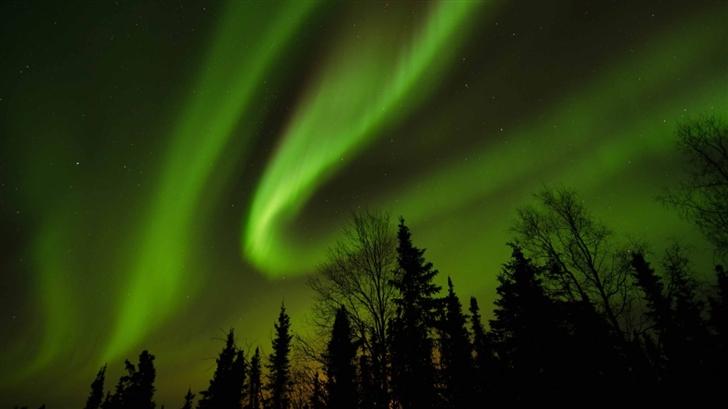 Aurora Borealis Alaska Mac Wallpaper