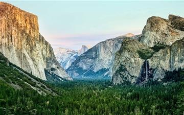 Yosemite Morning  Mac wallpaper