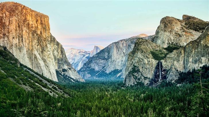 Yosemite Morning  Mac Wallpaper