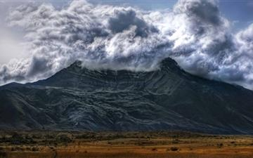 Volcano In Argentina All Mac wallpaper