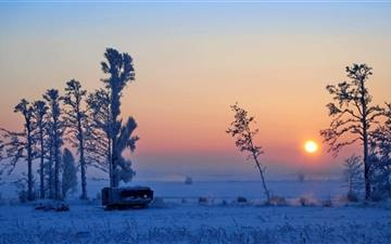 Wonderful Winter Morning All Mac wallpaper