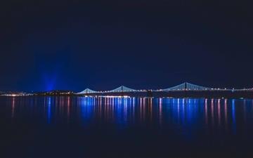 Bridge Night Mac wallpaper