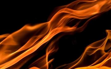Fire Flames Mac wallpaper
