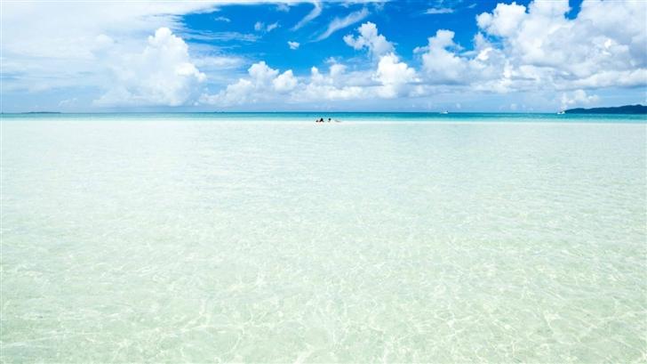 Okinawa Island Crystal Clear Water Mac Wallpaper