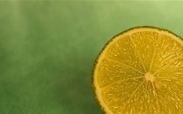 Lime Close Up Mac wallpaper