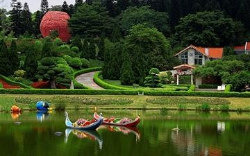 Yuntai Garden Mac wallpaper