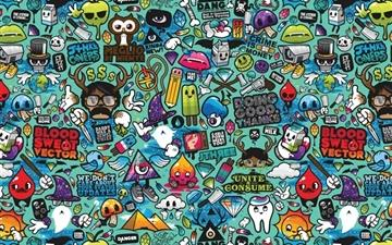 Comics 2 All Mac wallpaper