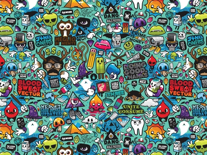 Comics 2 Mac Wallpaper