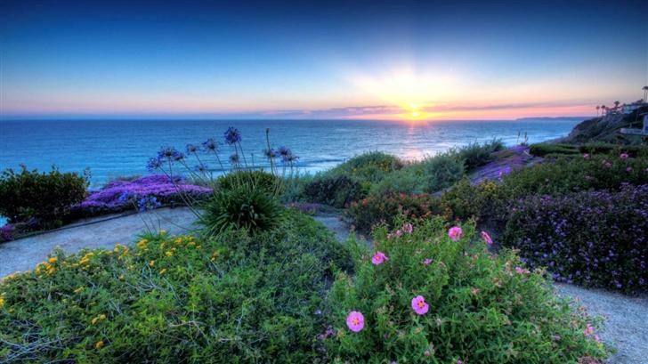pacific Sunset Mac Wallpaper