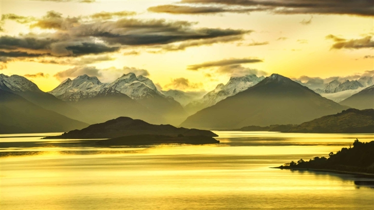 Glenorchy Island Mac Wallpaper