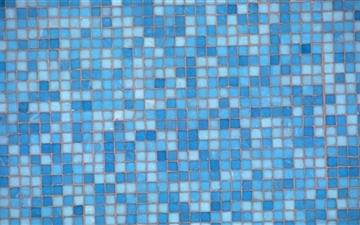 Blue Mosaic Mac wallpaper
