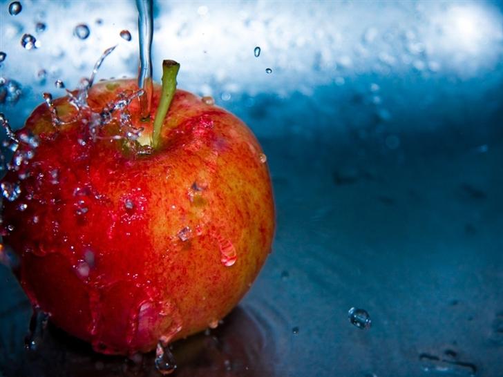 Apple Fruit Mac Wallpaper
