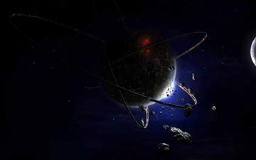 Fantasy Planet Mac wallpaper
