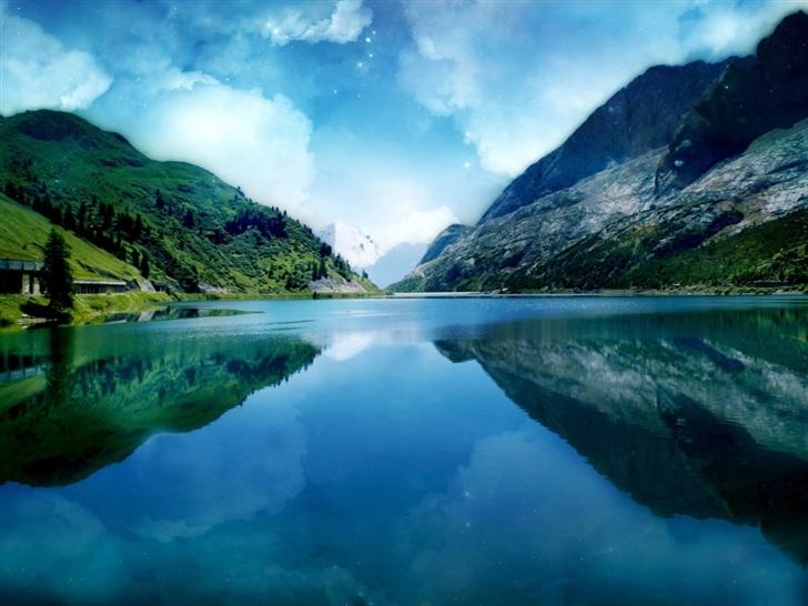 Magic Mountains Mac Wallpaper