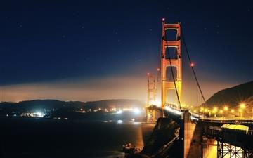 Golden Gate At Night 2 Mac wallpaper