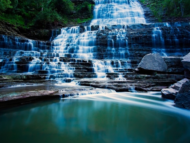 Albion Falls Ontario Canada Mac Wallpaper