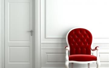 Red Chair Mac wallpaper