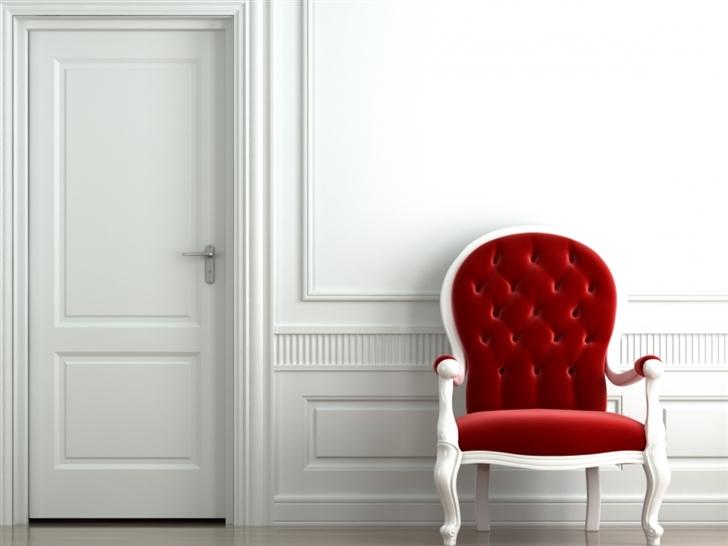 Red Chair Mac Wallpaper