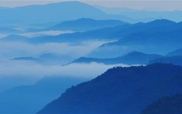 Mountain Ridges Mac wallpaper