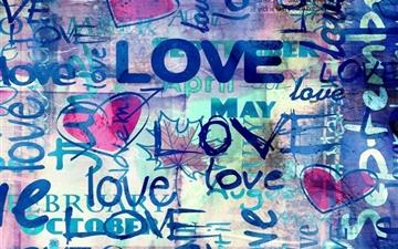 Wallpapers of Love Hearts All Mac wallpaper