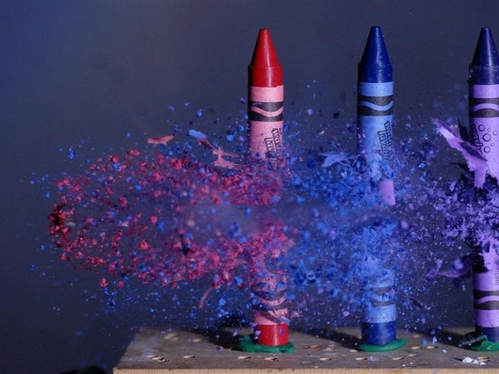 Colouring Pencils Mac Wallpaper