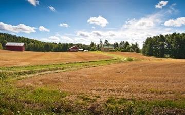 Farm Fields Mac wallpaper