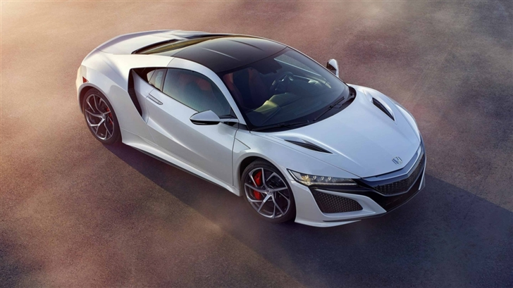Acura Nsx Coupe White Car Mac Wallpaper