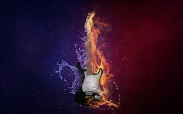 Electric Guitar Mac wallpaper