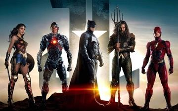 Justice League All Mac wallpaper