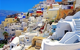 Santorini 0ia Greece